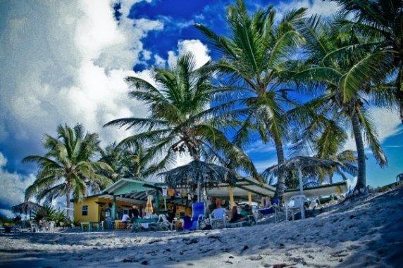Anageda beach scene