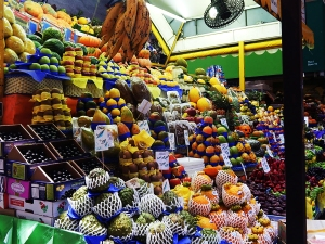 Fruit selection in Brazil #nytcooking