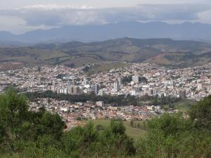 Overview of the city of Sao Laurenco, Brazil