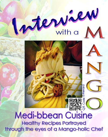 Cookbook cover: Interview with a mango